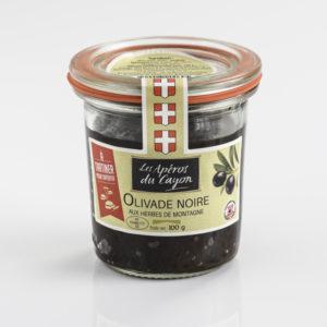 Olivade noire herbes de montagne - Salaisons du Cayon - Ducs de Savoie