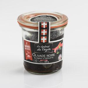 Olivade noire piment d'espelette - Salaisons du Cayon - Ducs de Savoie