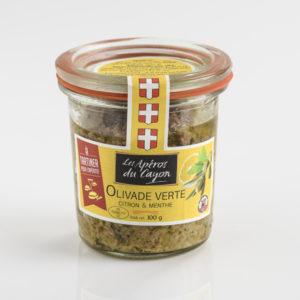 Olivade verte citron et menthe - Salaisons du Cayon - Ducs de Savoie
