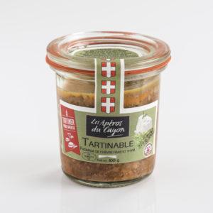 tartinable chèvre frais et thym - Salaisons du Cayon - Savoie