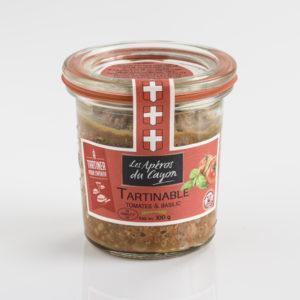 tartinable tomates et basilic - Salaisons du Cayon - Savoie