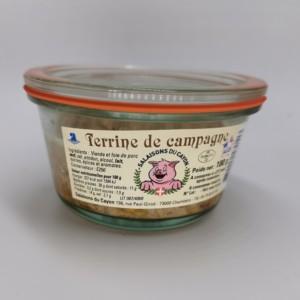 Terrine de campagne | Salaisons du Cayon | Charcuterie à Chambéry, Savoie |