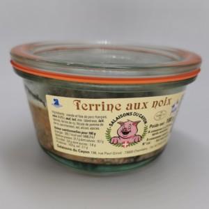 Terrine aux noix | Salaisons du Cayon | Charcuterie à Chambéry, Savoie |