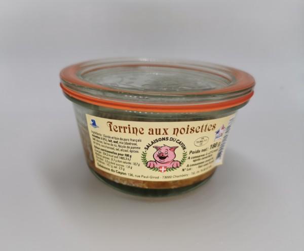 Terrine aux noisettes | Salaisons du Cayon | Charcuterie à Chambéry, Savoie |
