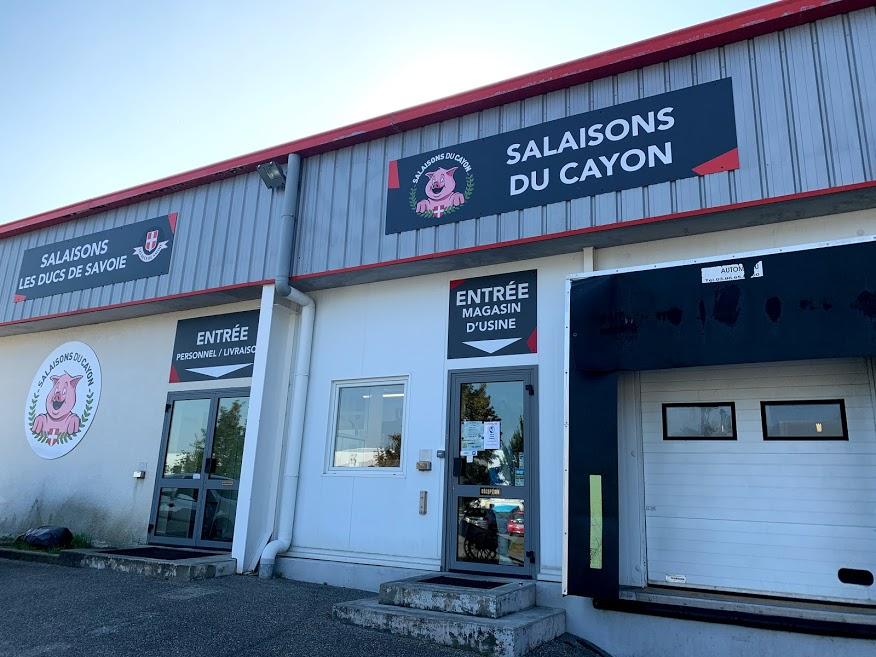 magasin d'usine - salaisons du cayon à Chambéry, charcuterie artisanale
