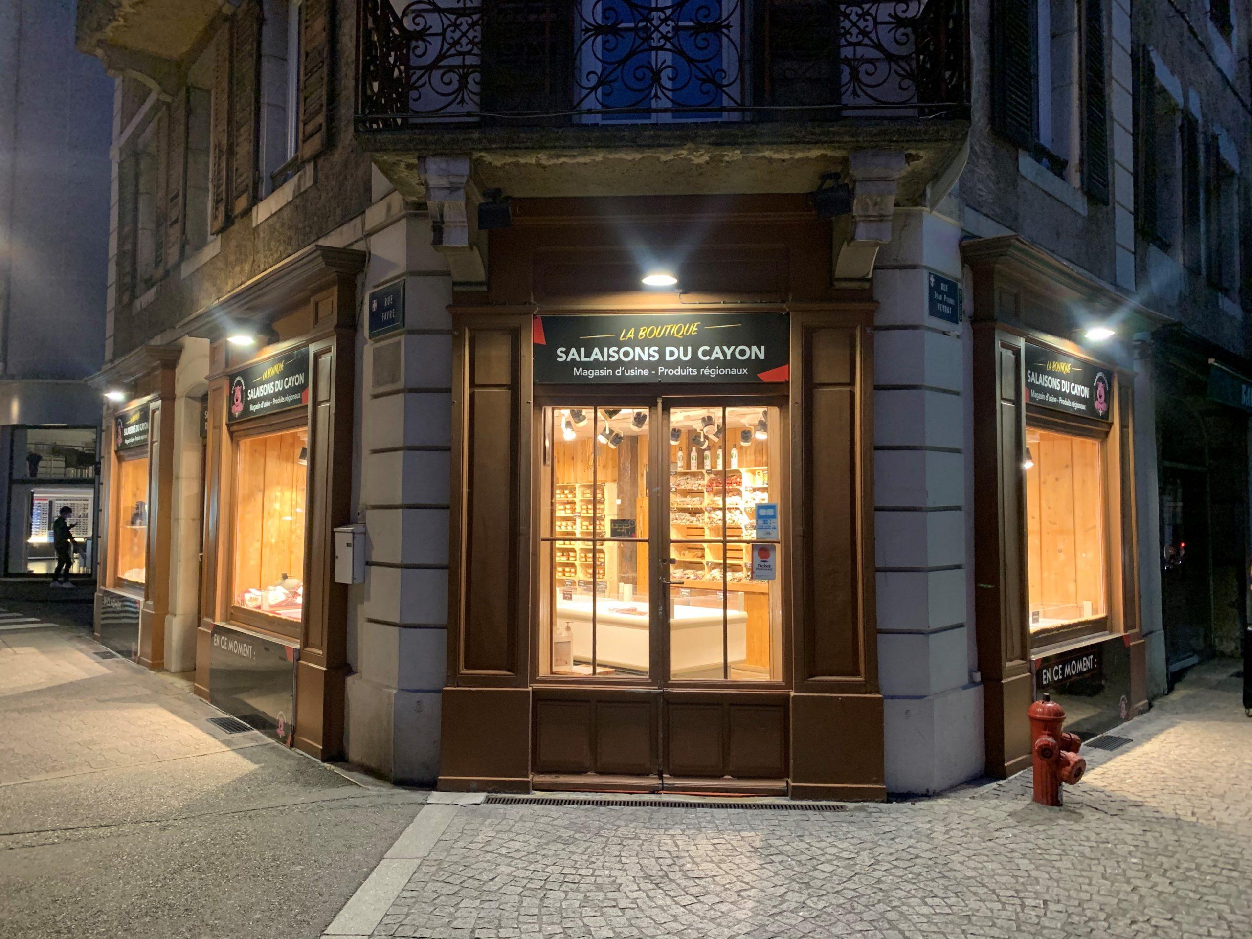 boutique du centre-ville - salaisons du cayon à Chambéry, charcuterie artisanale