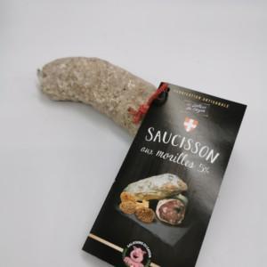Saucisson Morilles | Salaisons du Cayon | Charcuterie à Chambéry, Savoie |